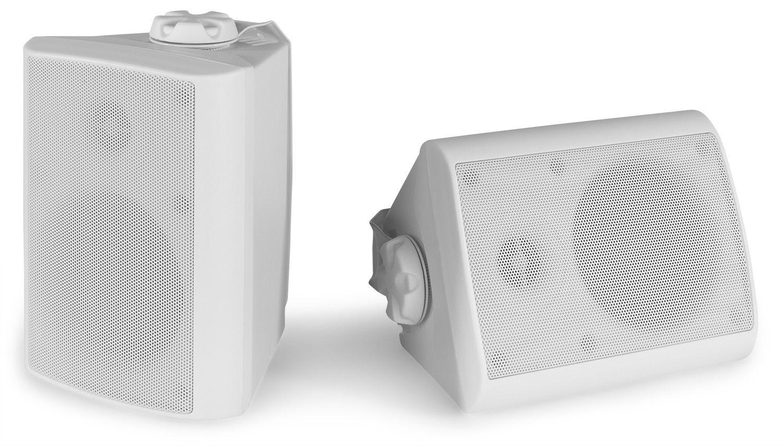 Afbeelding van 2e keus - Power Dynamics BGO40 Witte speakerset voor binnen en buiten ...