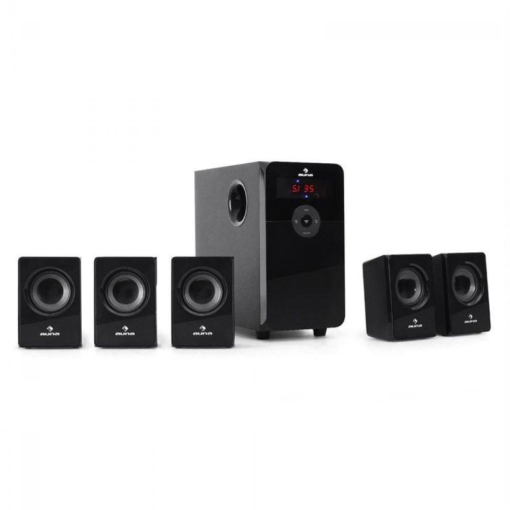 Afbeelding van 2e keus - Auna 5.1-Home Cinema Set USB-SD-MP3 Radio 5000 Watt...