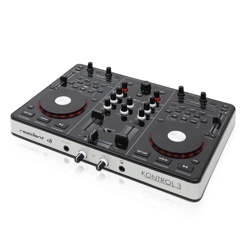 Afbeelding van 2e keus - Resident DJ Kontrol 3 DJ MIDI controller...