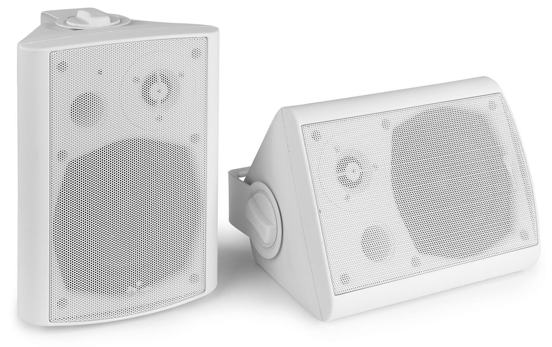 Afbeelding van 2e keus - Power Dynamics BGB50 witte Bluetooth speakerset voor binnen ...