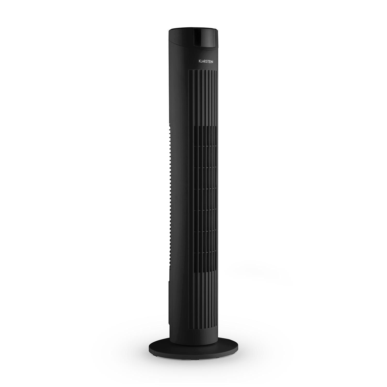 Afbeelding van Klarstein Ventilator zwart Skyscraper G2...