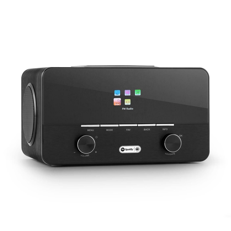 Afbeelding van Auna Connect 150 BK DAB+ en WiFi internetradio met Spotify en USB...