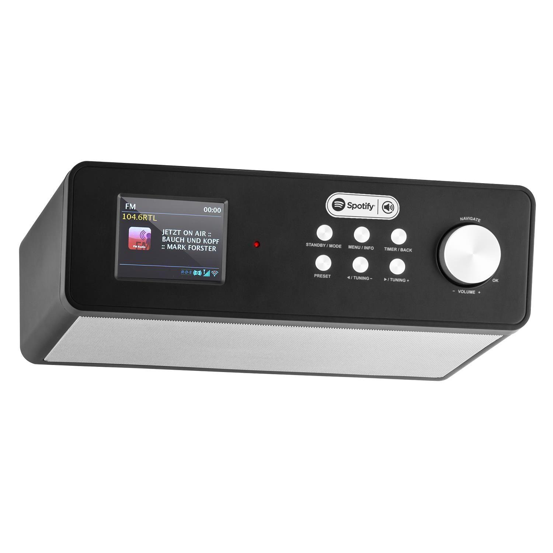 Afbeelding van Auna KR200 keukenradio zwart met DAB+, WiFi, Spotify, USB...