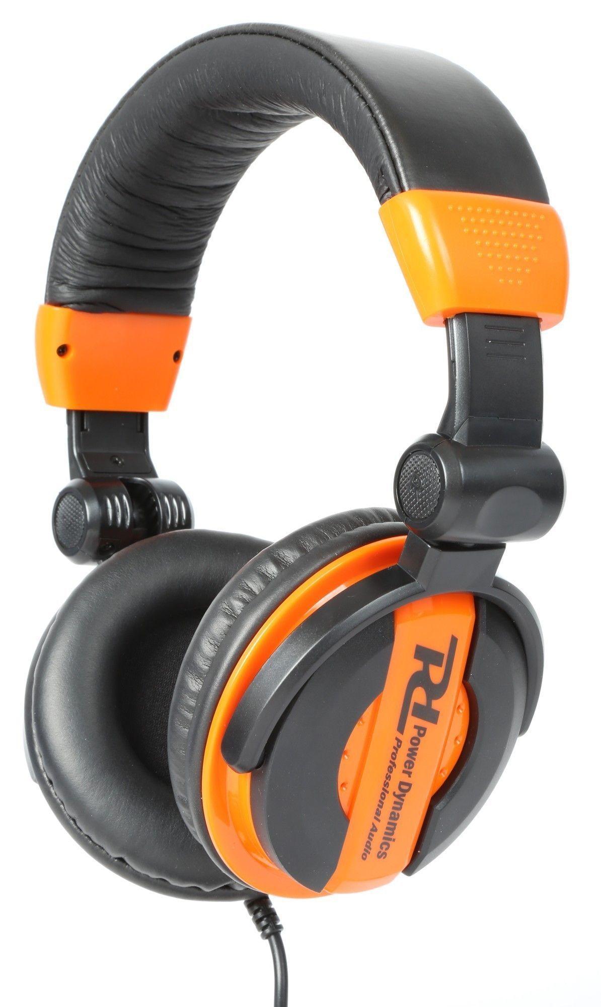DJ koptelefoon met inklap- en draaibare oorschelpen PH200 Oranje