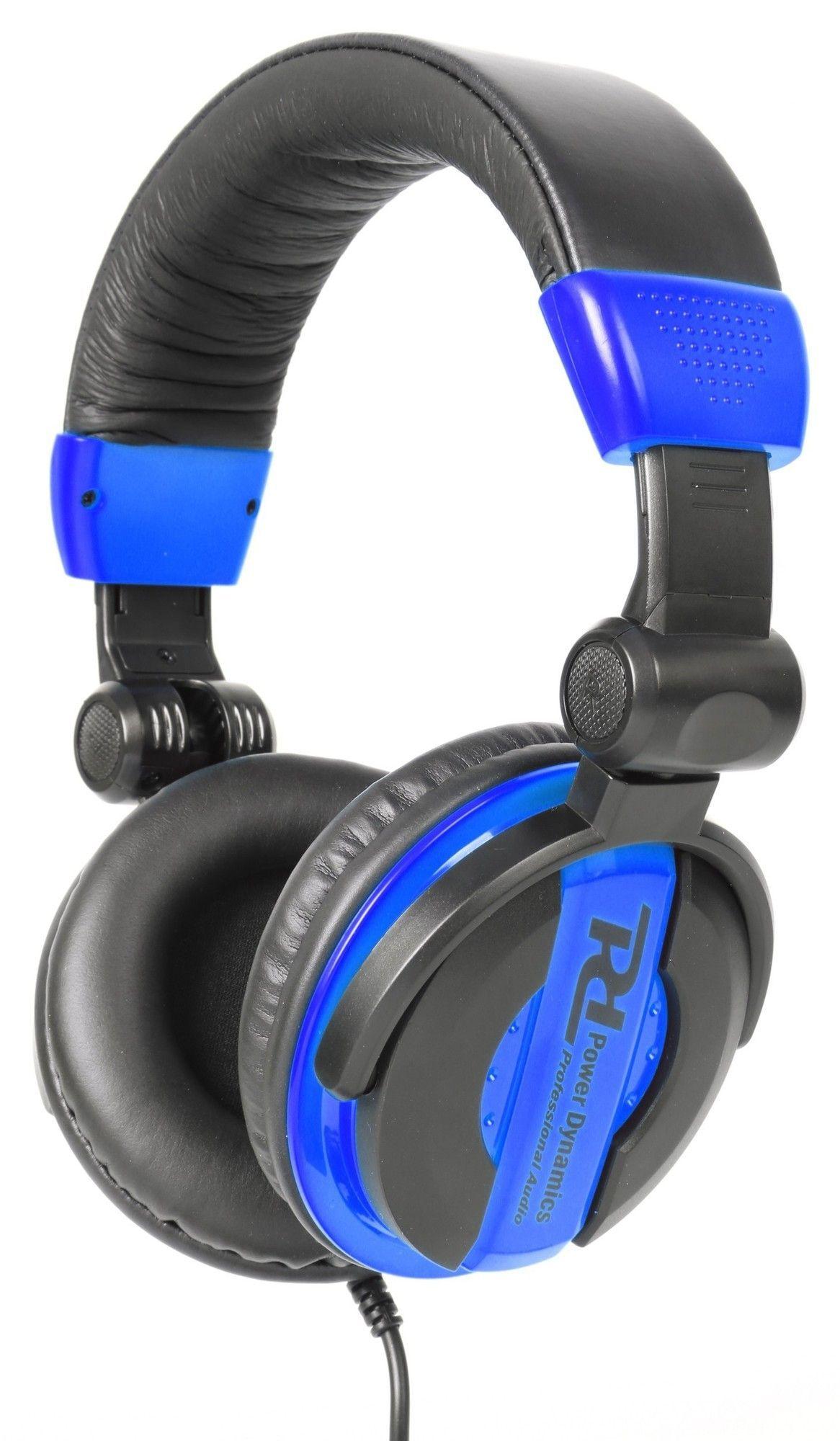 DJ koptelefoon met inklap- en draaibare oorschelpen PH200 Blauw