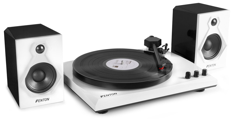 Afbeelding van Fenton RP106BW HiFi platenspeler met Bluetooth en speakers...