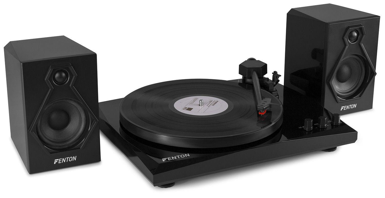 Afbeelding van Fenton RP160B High-end platenspeler met Bluetooth en speakers...