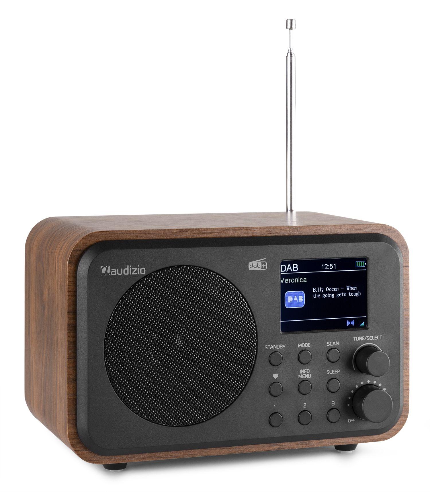 2e keus - Audizio Milan draagbare DAB radio met Bluetooth, FM radio en
