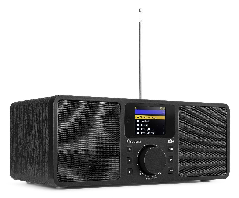 2e keus - Audizio Rome DAB radio, internet radio met wifi + Bluetooth