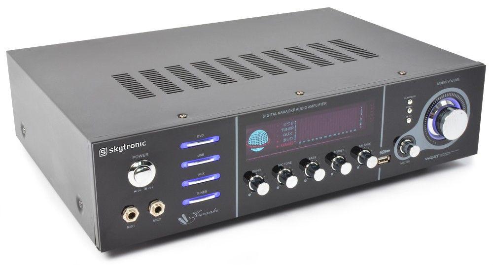 Afbeelding van 2e keus - SkyTronic AV-320 5-kanaals versterker met USB...