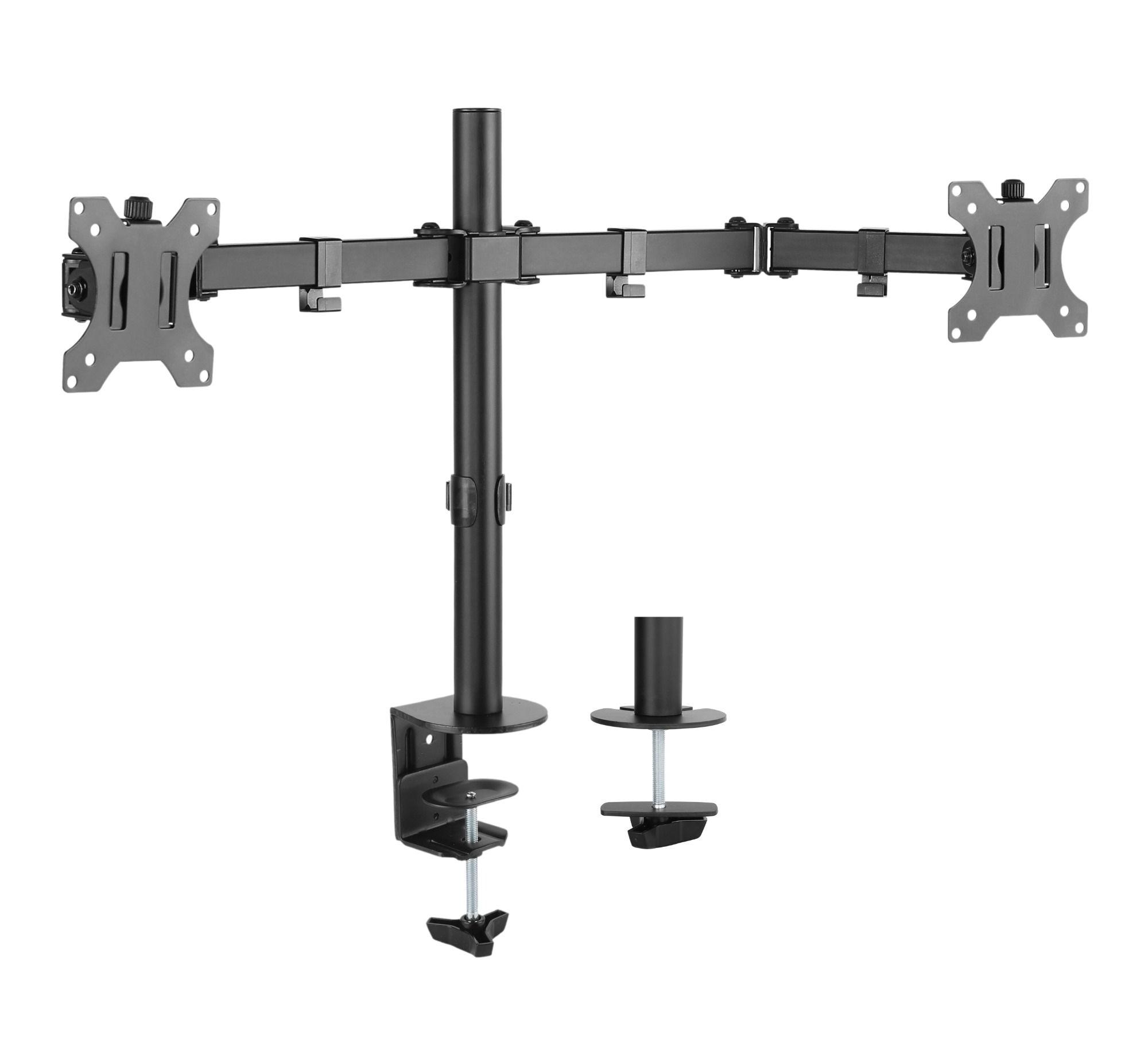 Audizio MAD20 universele monitor arm voor 2 schermen van 13 - 32 inch