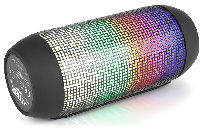 Dagaanbieding: MAX MX3 Bluetooth luidspreker 'Flip Party Tube' met LED