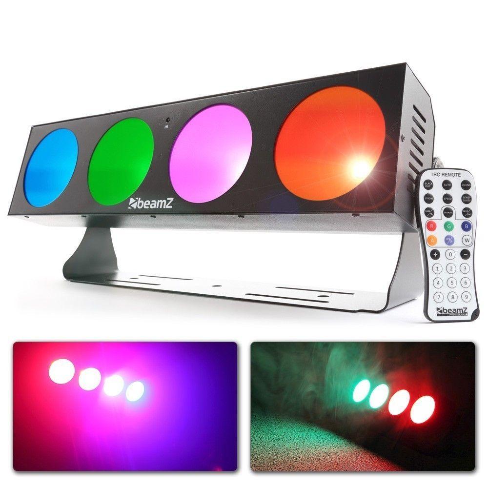 Afbeelding van 2e keus - BeamZ LUCID 1.4 LED BAR met 4x 10W COB LED\'s...