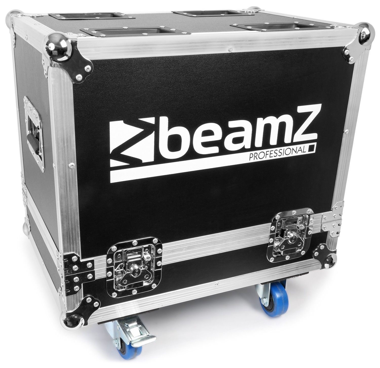 B-Stock - BeamZ Flightcase voor 2 stuks Panther 2R movingheads UP