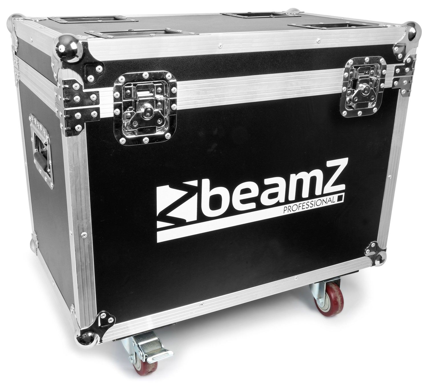 BeamZ Flightcase voor 2 stuks Panther 2R movingheads DOWN
