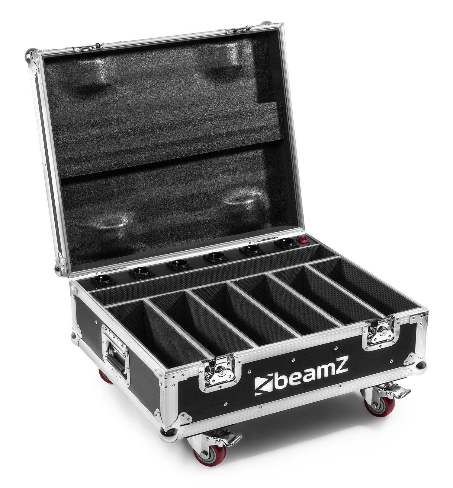 Afbeelding van BeamZ FCC12 Flightcase met oplaadfunctie voor 6 BBB612 LED BARs...