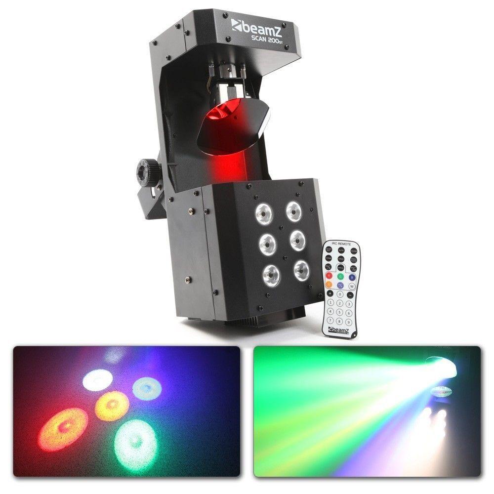 BeamZ Scan200ST LED scanner met LED stroboscoop