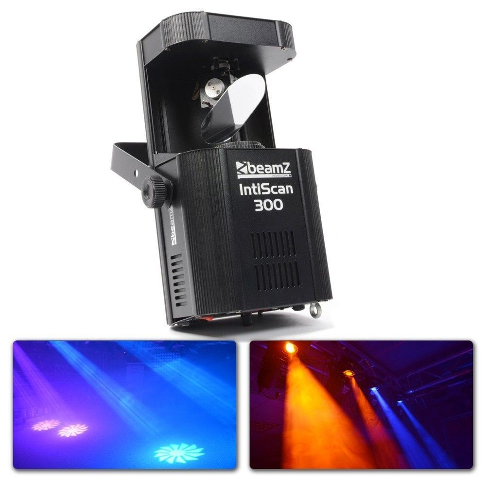 BeamZ IntiScan 300 Scanner 30W LED DMX