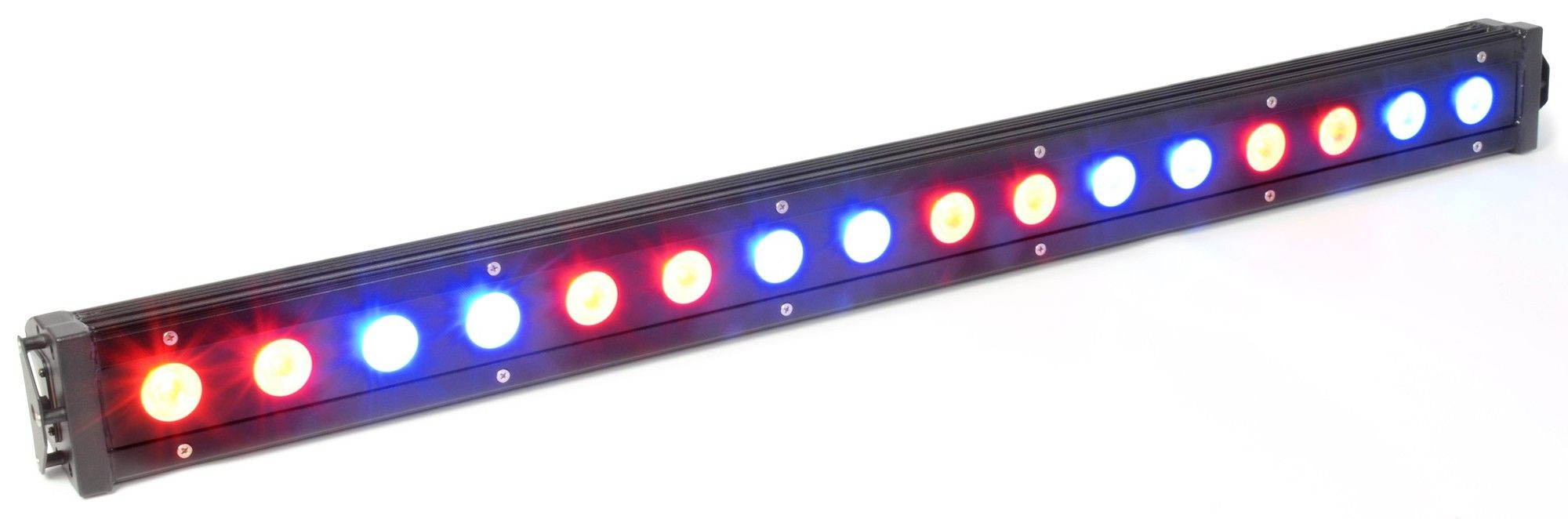 BeamZ LCB-48IP Kleurenunit 16x 3W Tri-color LED's DMX