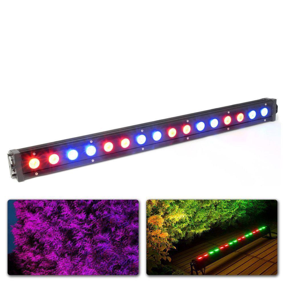 Afbeelding van 2e keus BeamZ LCB 48IP Kleurenunit 16x 3W Tri color LED\'s DMX...