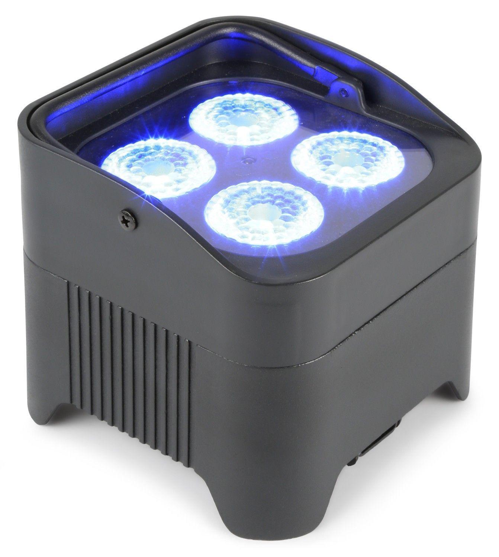 Afbeelding van 2e keus - BeamZ BBP94 Uplight PAR spot op accu met 4x 10W LEDs...