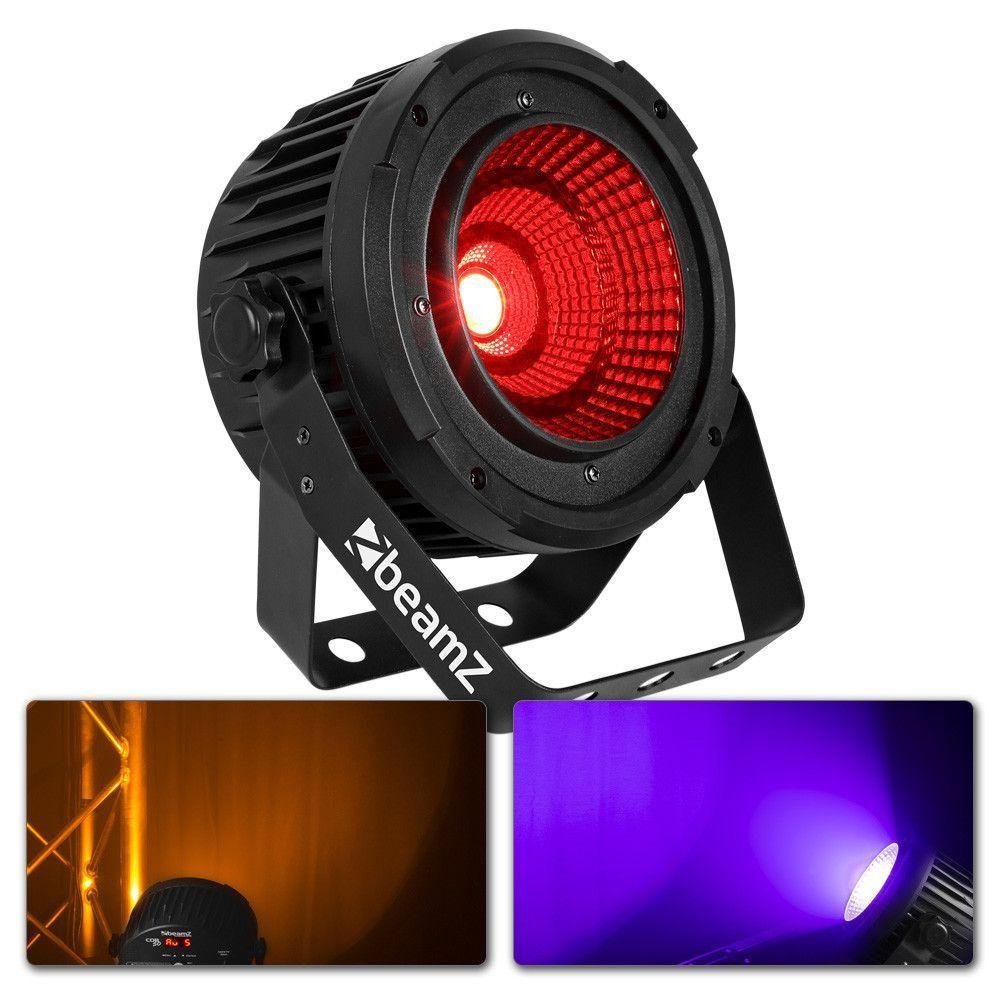 Afbeelding van 2e keus - BeamZ COB50 compacte LED PAR spot met 50W COB LED...