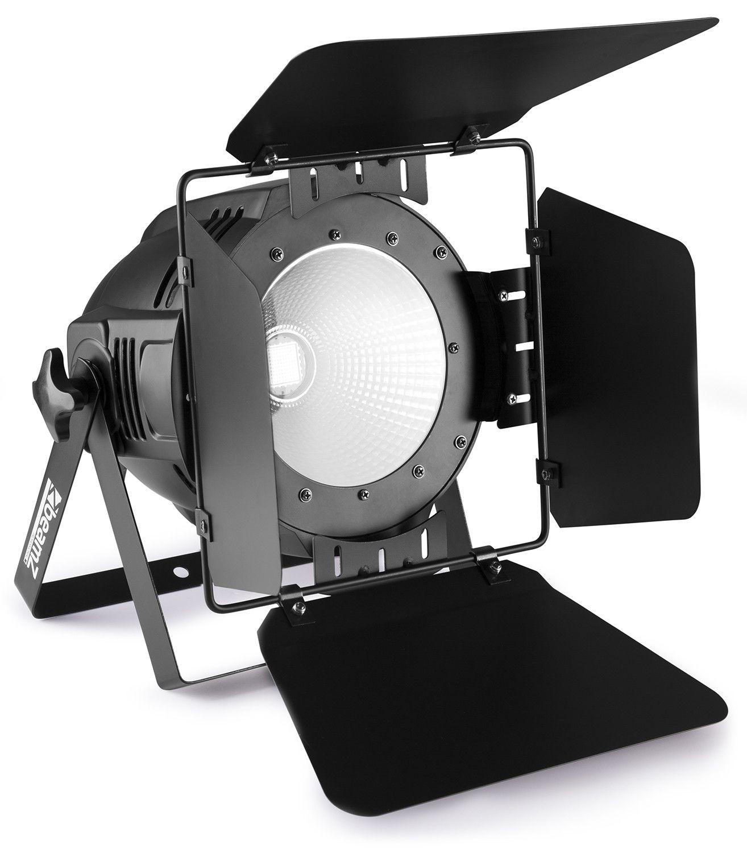 Afbeelding van BeamZ COB100UV blacklight UV PAR spot 100W met barndoors...