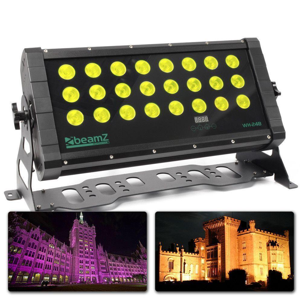 Afbeelding van 2e keus BeamZ WH 248 Wall Washer 24x 8W Quad LED\'s DMX...
