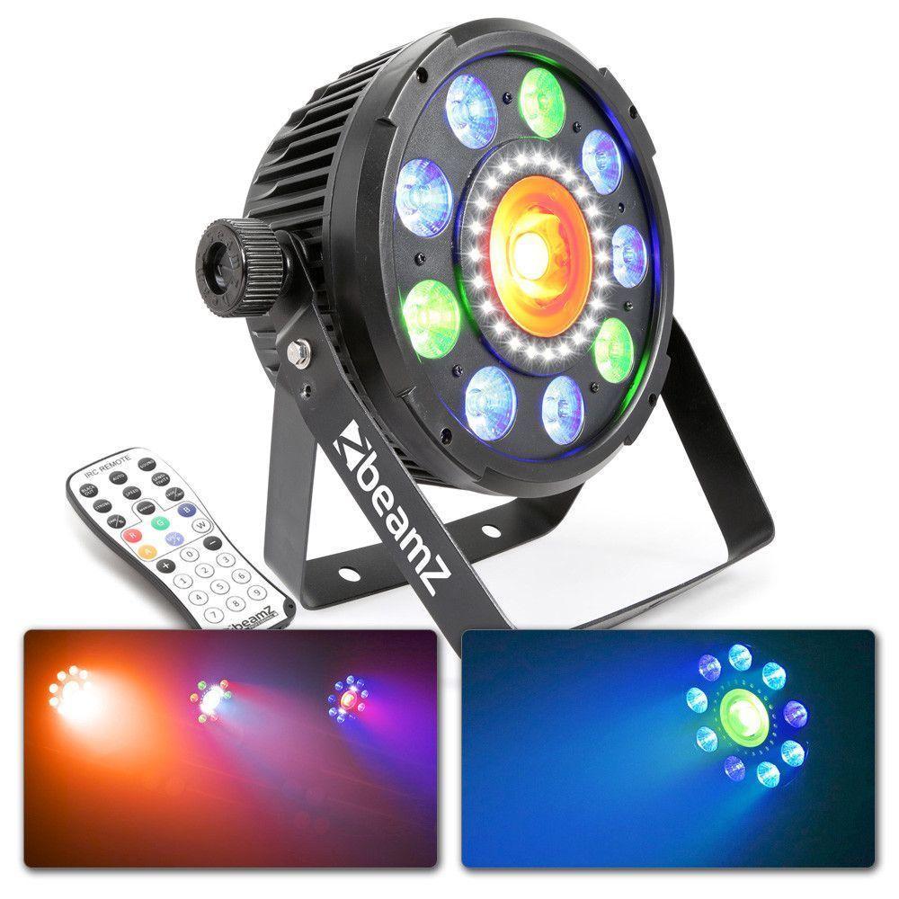 Afbeelding van 2e keus - BeamZ BX96 6-in-1 LED PAR met 20W COB LED en 24 LED\'s strob...