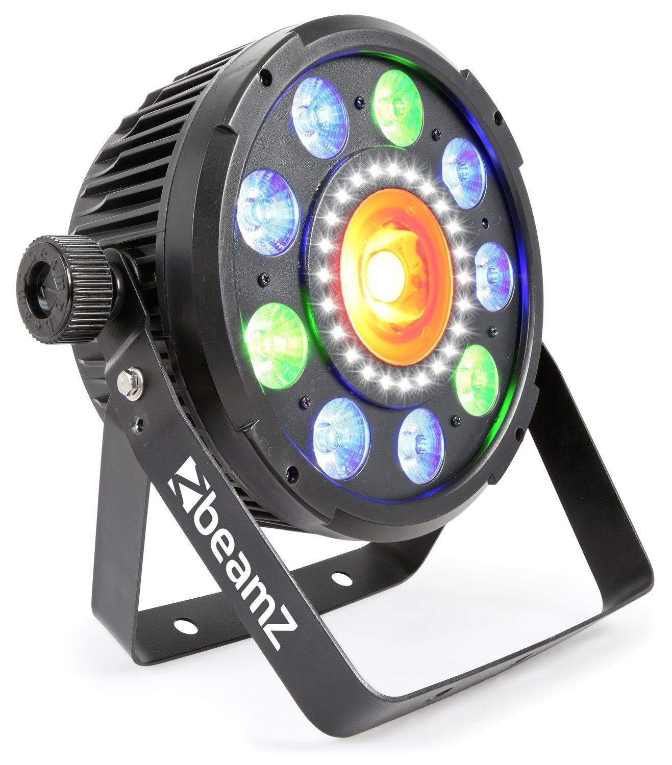 BeamZ BX96 6-in-1 LED PAR met 20W COB LED en 24 LED's stroboscoop