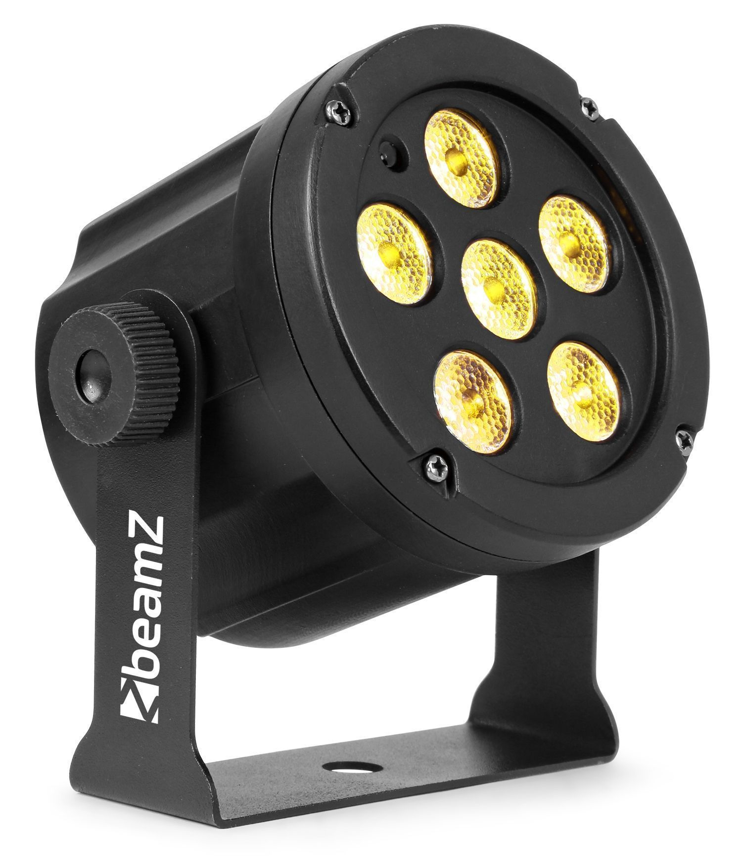 BeamZ SlimPar30 - Warm en cool white + blacklight - 6 LED's van 6W per LED