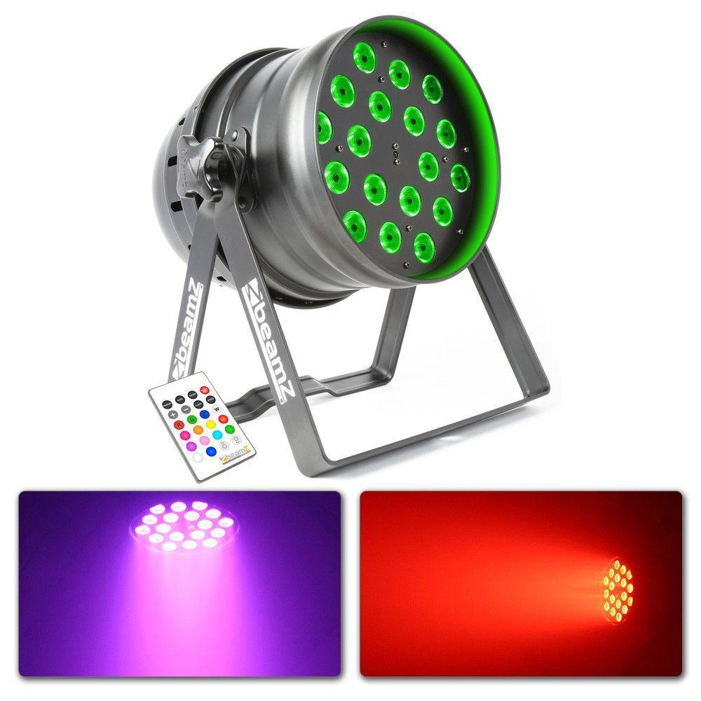 Afbeelding van 2e keus BeamZ LED PAR 64 PRO 18x 10W Quad...