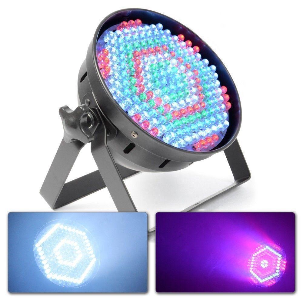 SlimPAR 64 Spot DMX 186 LED's RGB 10mm