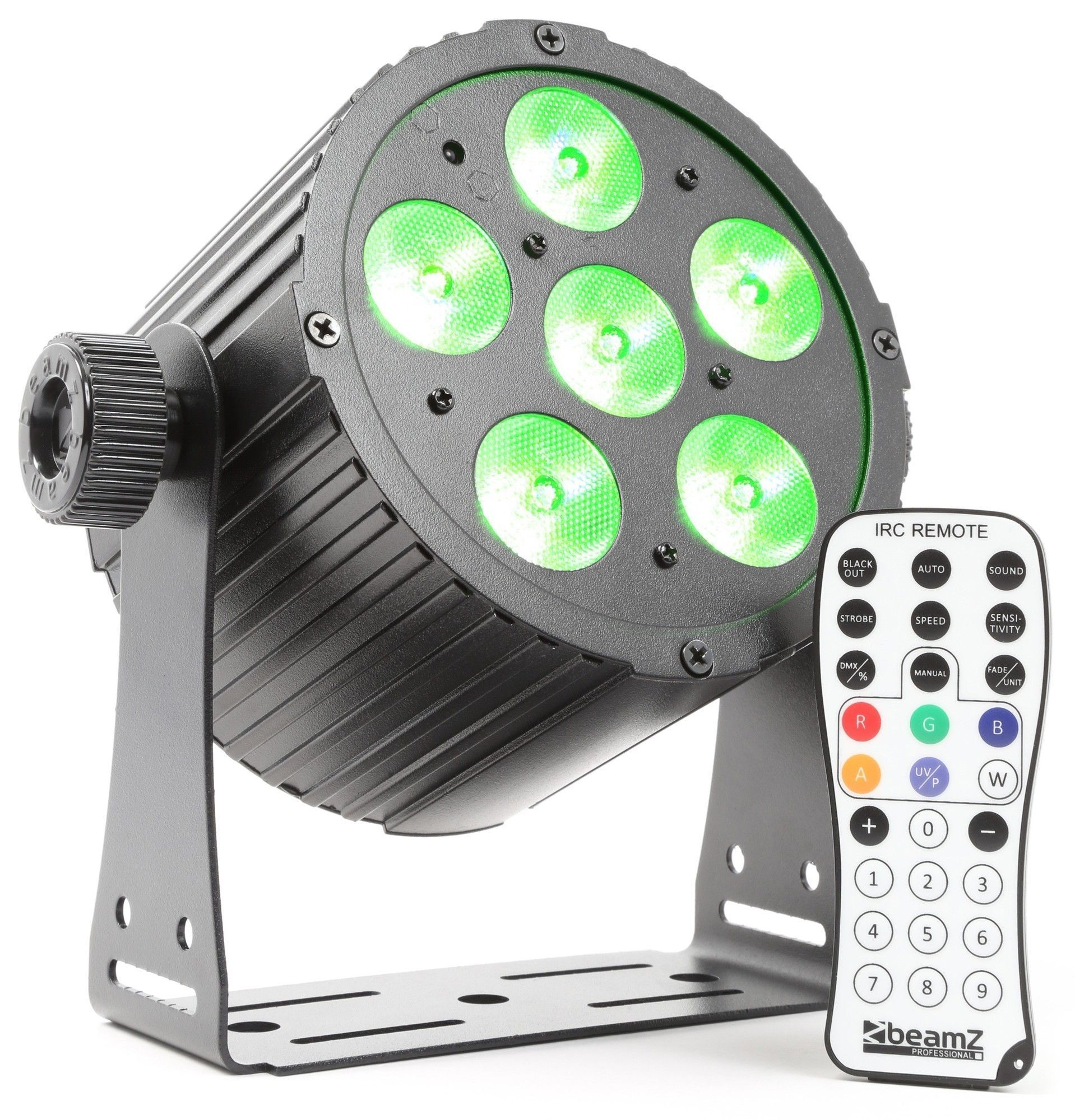 BeamZ BAC406 Aluminium LED spot met 6x 18W 6-in-1 LED's