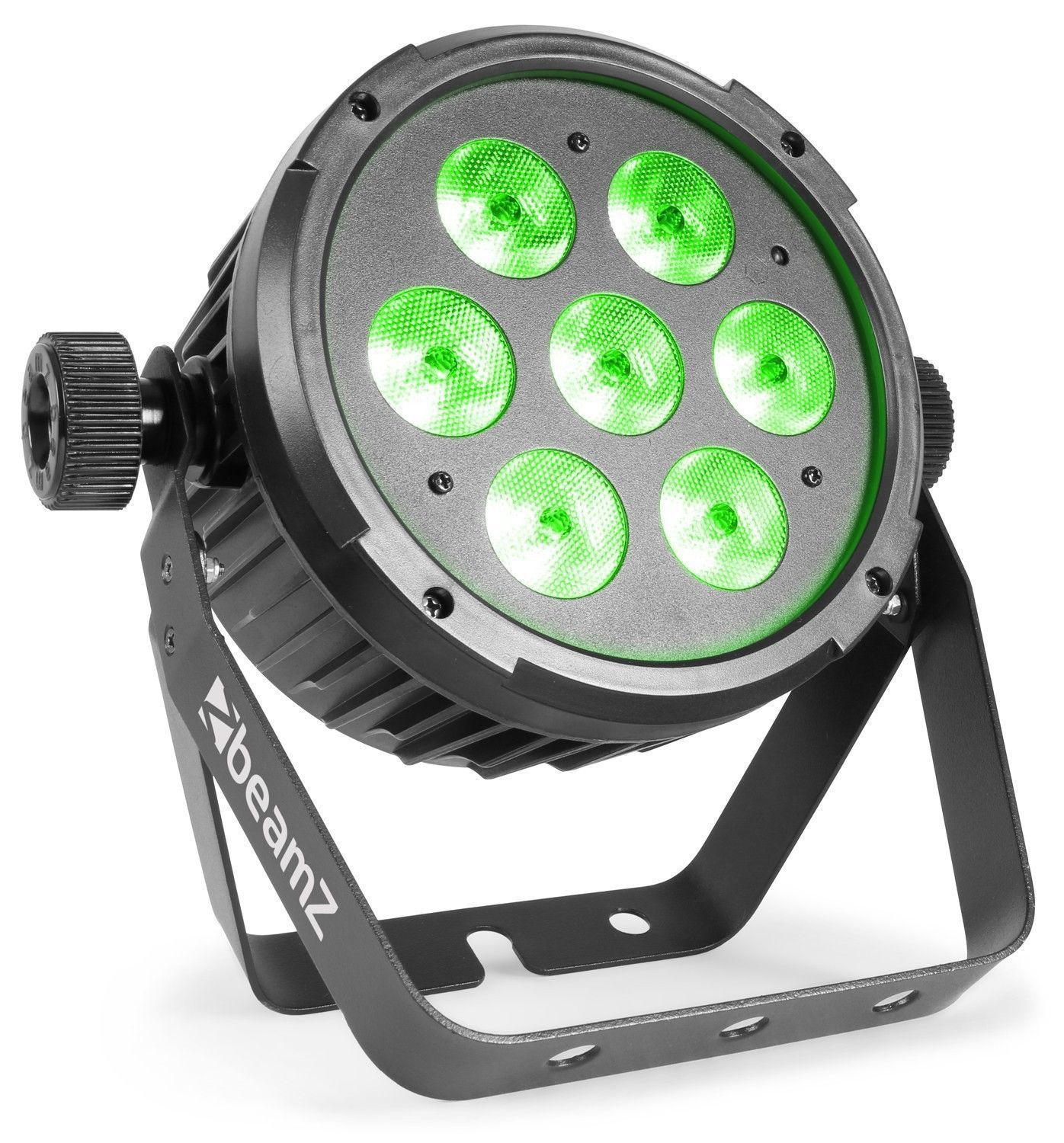 BeamZ BT270 LED flatpar met 7x 6W RGBW LED's incl. remote