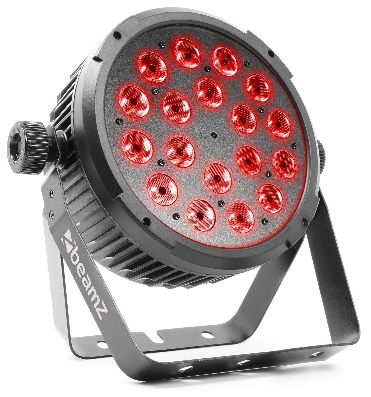 BeamZ BT320 LED flatpar met 18x 6W RGBW LED's incl. remote