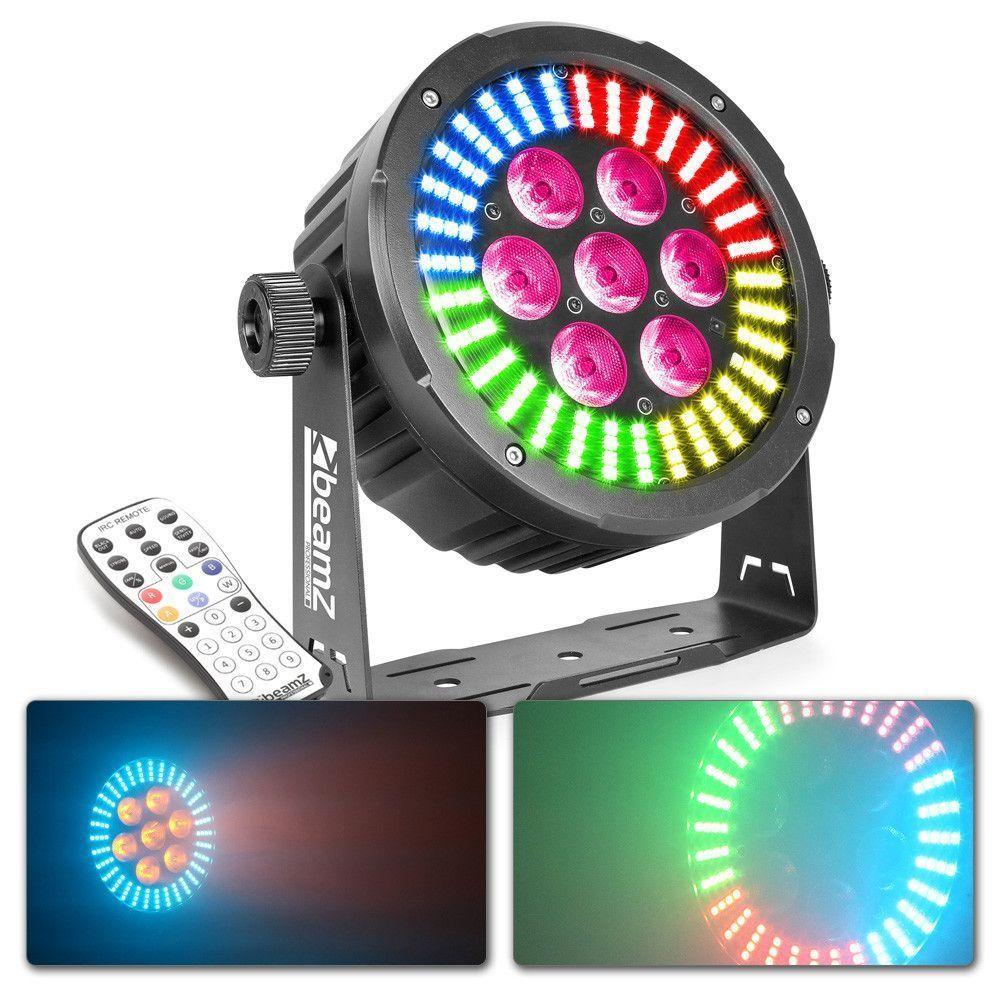 Afbeelding van BeamZ BAC502 LED PAR aluminium RGBAW-UV incl afstandsbediening...