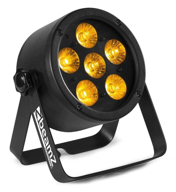 Afbeelding van 2e keus - BeamZ BAC302 Aluminium LED Par met 6x 12W 6-in-1 LEDs...