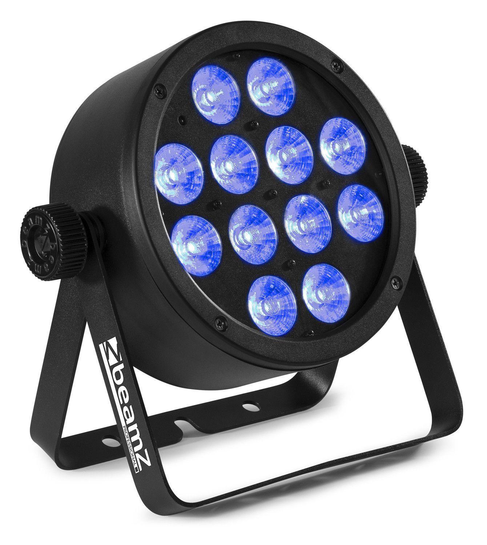 Afbeelding van 2e keus - BeamZ BAC304 Aluminium LED Par met 12x 8W 4-in-1 LEDs...