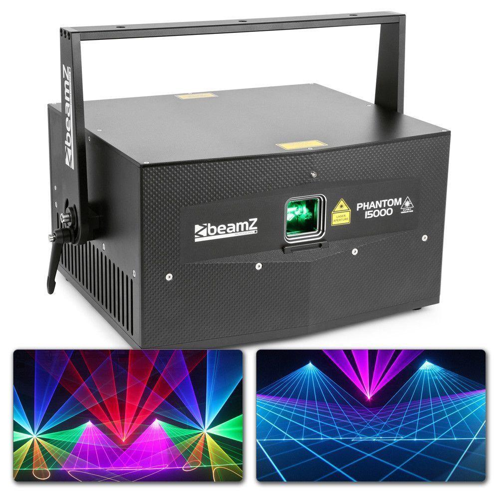 BeamZ Professional BeamZ Phantom 15000 Pure Diode analoge 15000mW RGB Laser