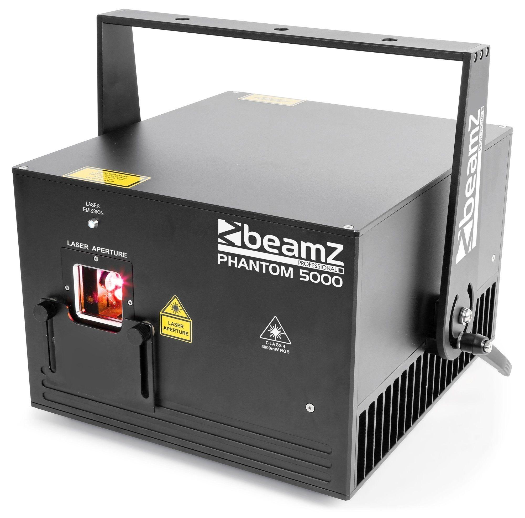 BeamZ Phantom 5000 Pure Diode analoge 5000mW RGB Laser