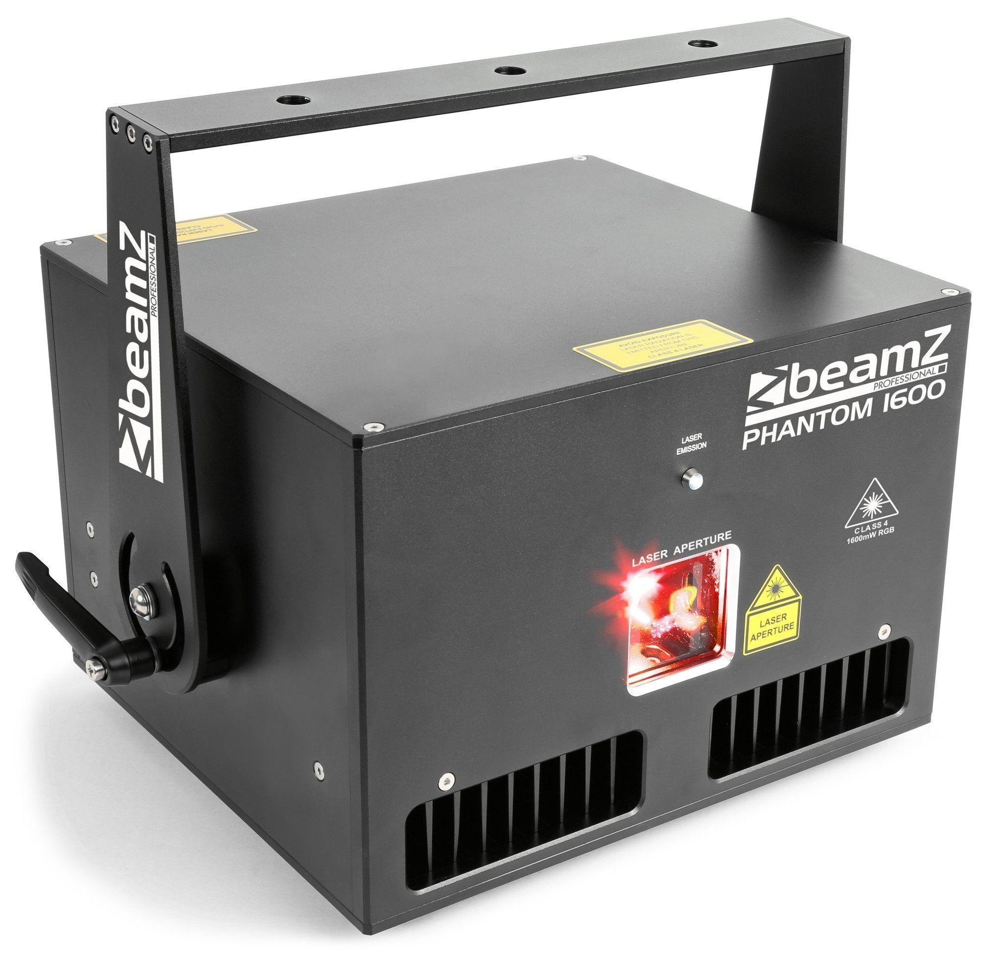 BeamZ Phantom 1600 Pure Diode analoge 1600mW RGB Laser