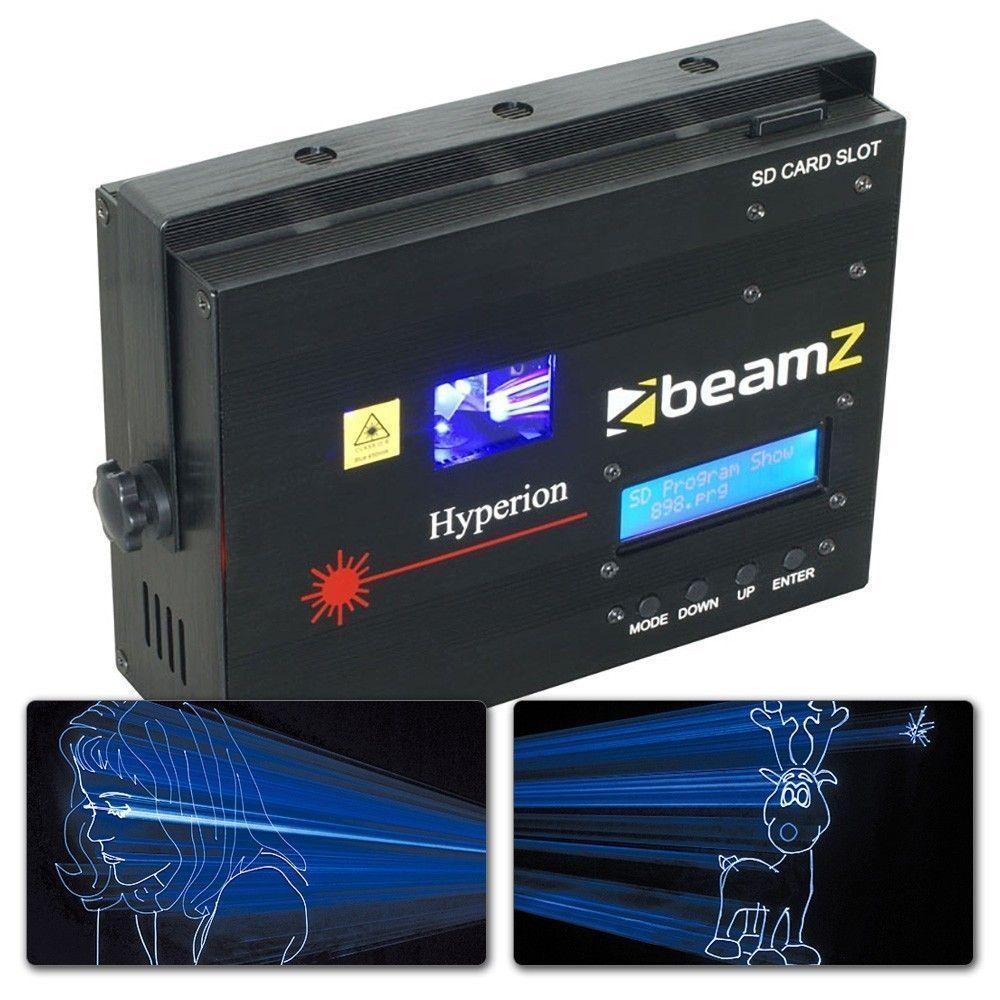 Hyperion Blauwe Animatie Laser met Software