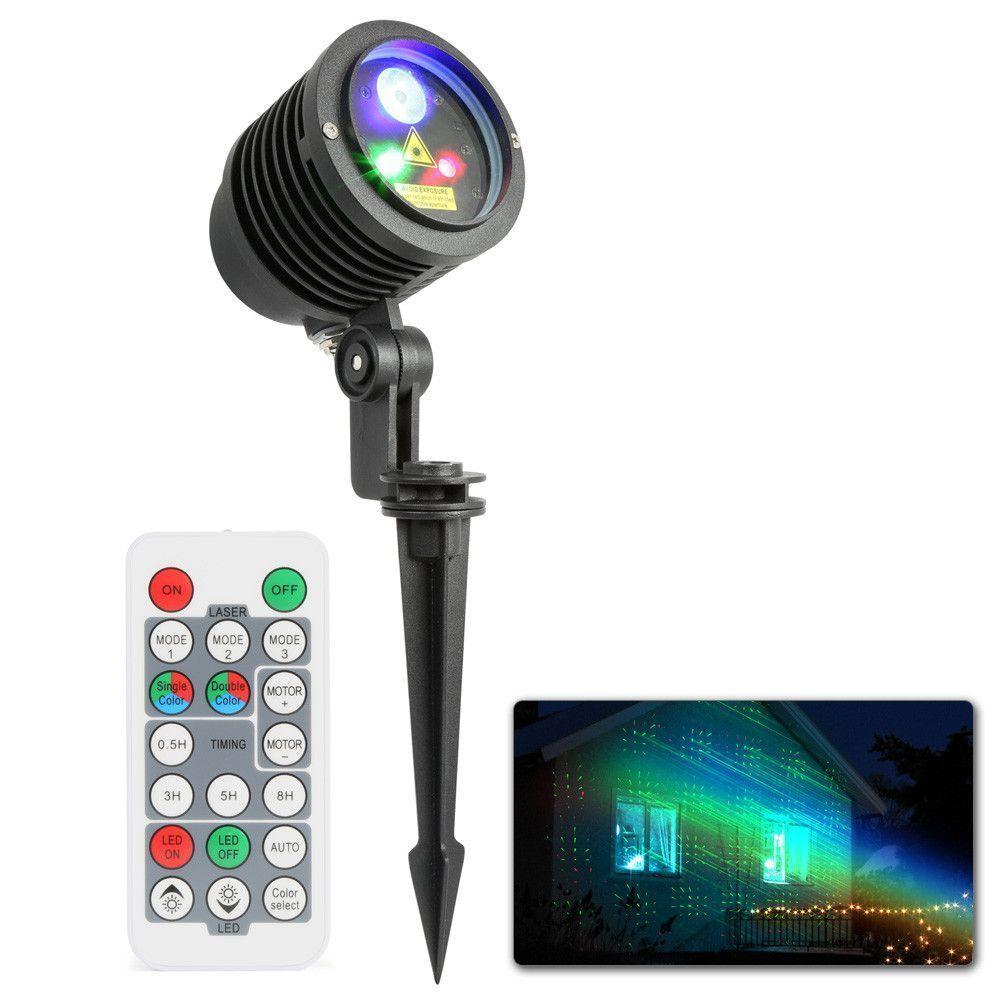 Dagaanbieding: BeamZ Laser Rood/Groen met 3W RGB LED voor buiten incl. remote