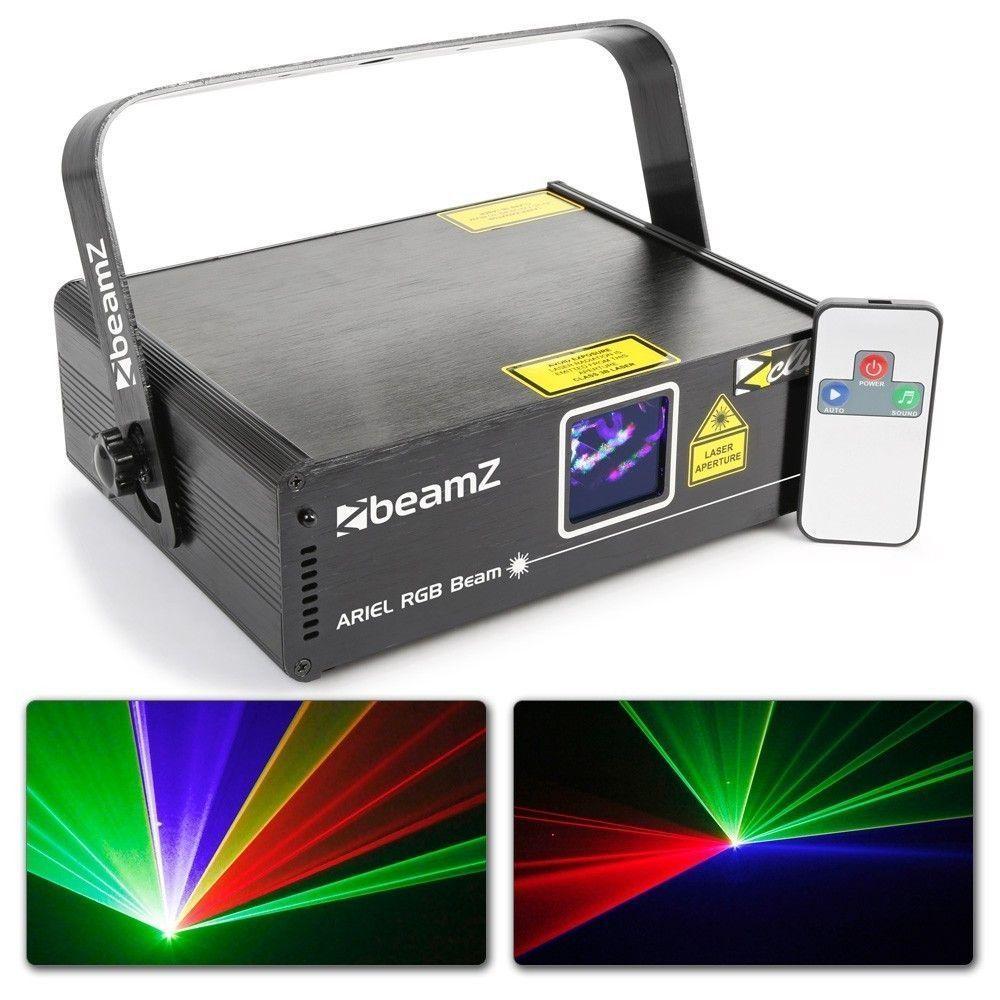 Afbeelding van BeamZ Ariel Laser 350mW RGB met afstandsbediening en DMX...