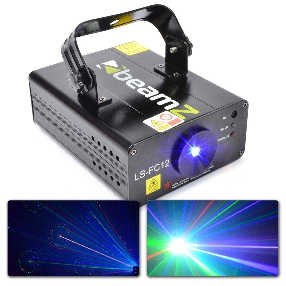 B-Stock - BeamZ LS-FC12 rood, groen en blauwe laser