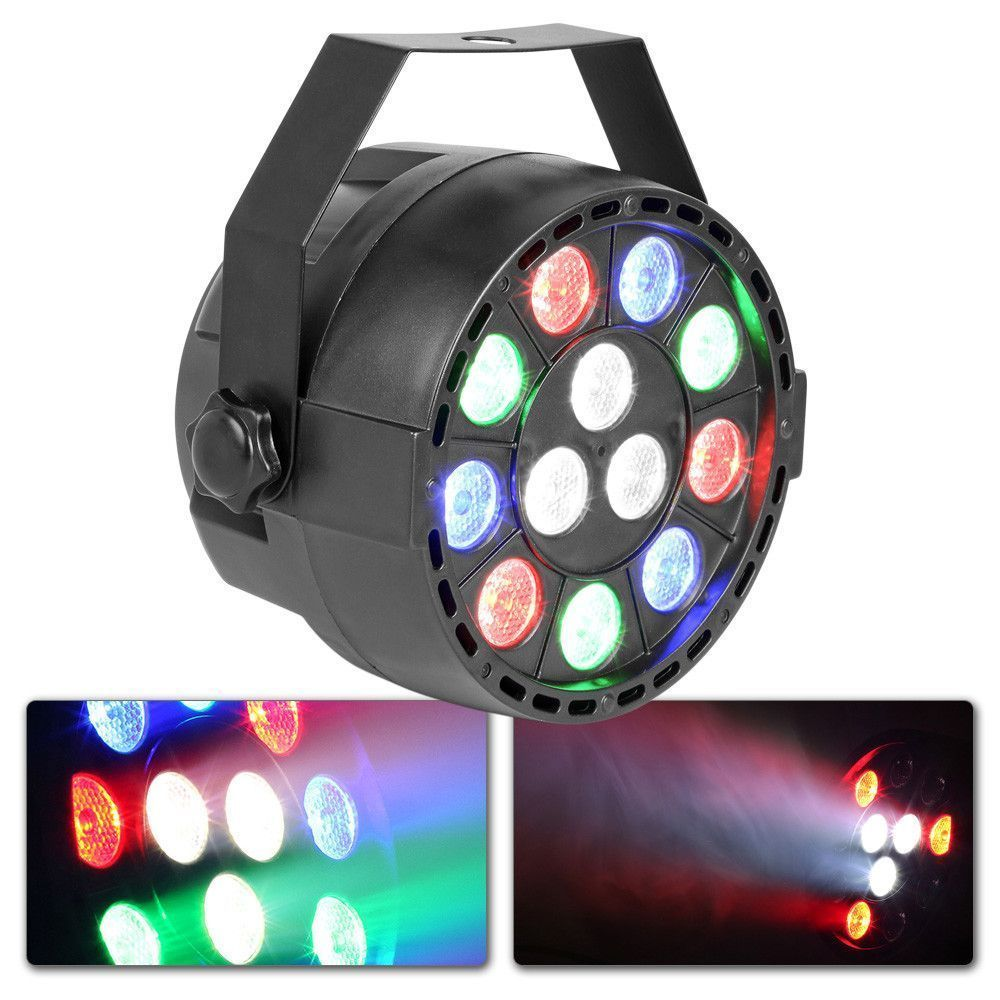 Dagaanbieding - MAX PartyPar met 12x 1W RGBW LED's en DMX dagelijkse koopjes