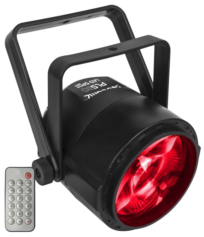 BeamZ PLS30 LED Spot 1x 10W RGBW op accu
