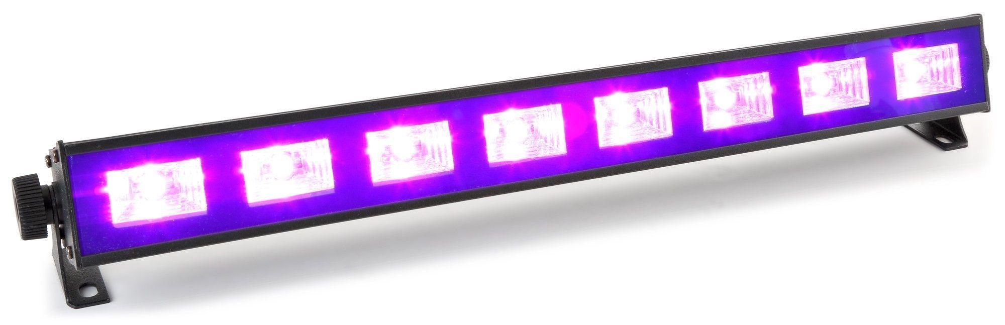 Dagaanbieding: BeamZ BUV93 LED Blacklight BAR met hoge output van 8x 3W