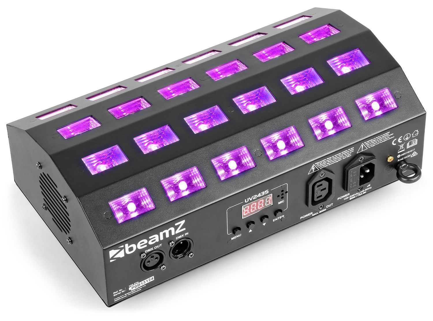 Afbeelding van BeamZ BUV463 Blacklight UV LED stroboscoop...
